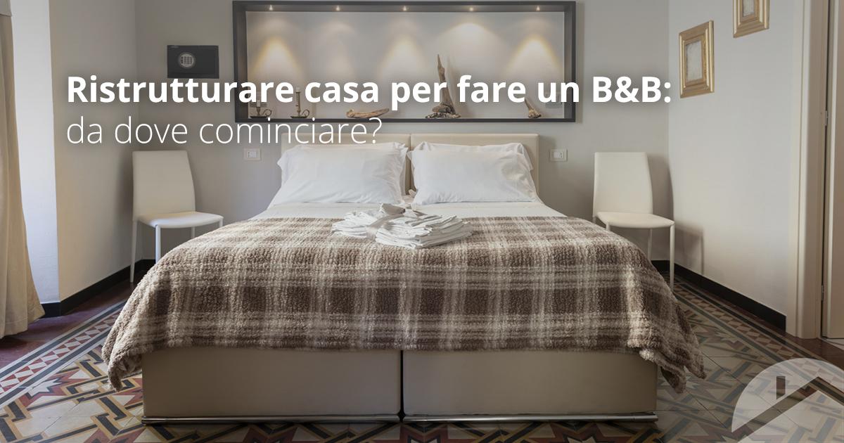 Ristrutturare casa a Genova per farne un B&B